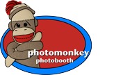 PhotoMonkey Photobooth Menu Logo