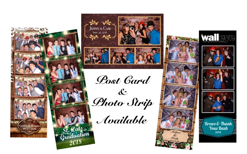PhotoMonkey Photobooth Custom Photo Strips