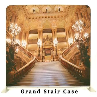 PhotoMonkey Photobooth Thunder Bay Backdrops - Grand Staircase