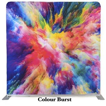 PhotoMonkey Photobooth Thunder Bay Backdrops - Colour Burst