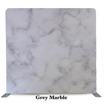 PhotoMonkey Photobooth Thunder Bay Backdrops - Grey Marble