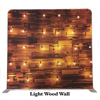 PhotoMonkey Photobooth Thunder Bay Backdrops - Light Wood Wall