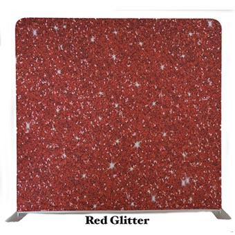PhotoMonkey Photobooth Thunder Bay Backdrops - Red Glitter